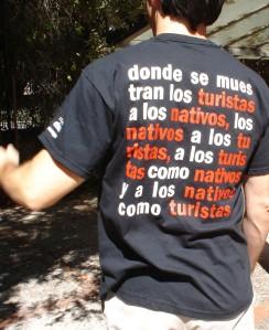 Camiseta de la esposición Souvenir Souvenir