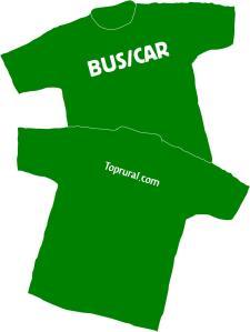 Camiseta toprural. Diseño Alberto y Oyer Corazón
