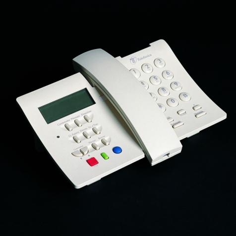 Teléfono Domo de Telefónica diseñado por Alberto Corazón