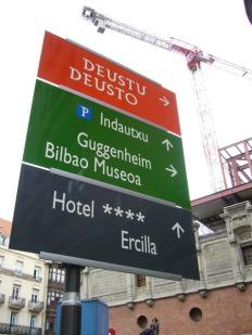 Señalización Bilbao