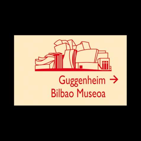 Señalización de Bilbao